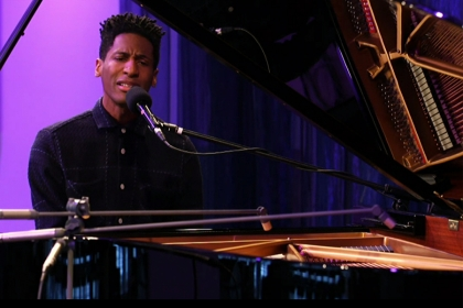 Jon Batiste Can't Keep His Fingers Off The Piano
