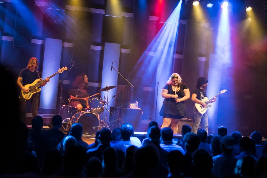 Sheer Mag On World Cafe