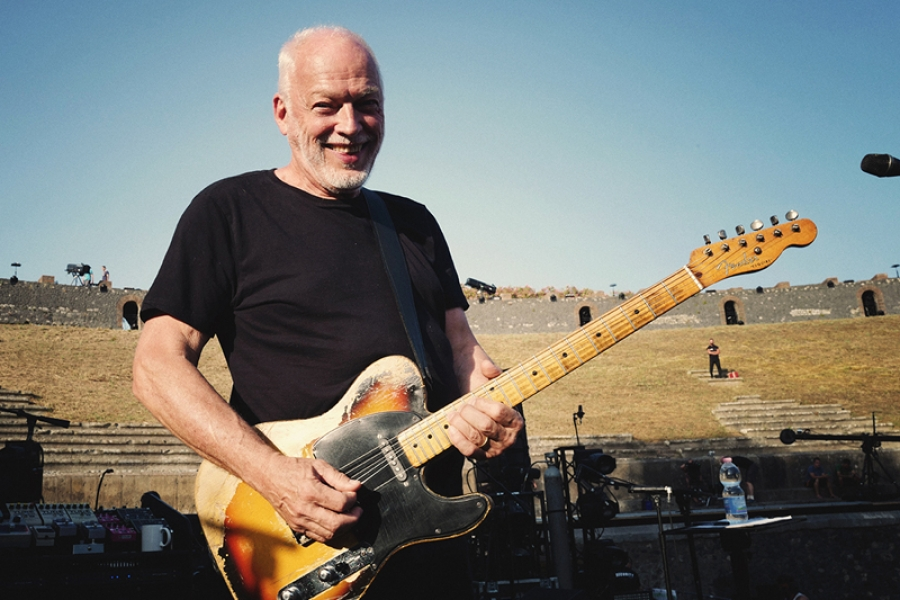 David Gilmour On World Cafe