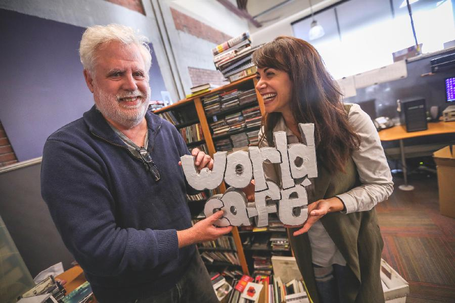 On Air With Talia Schlanger, World Cafe's New Contributing Host