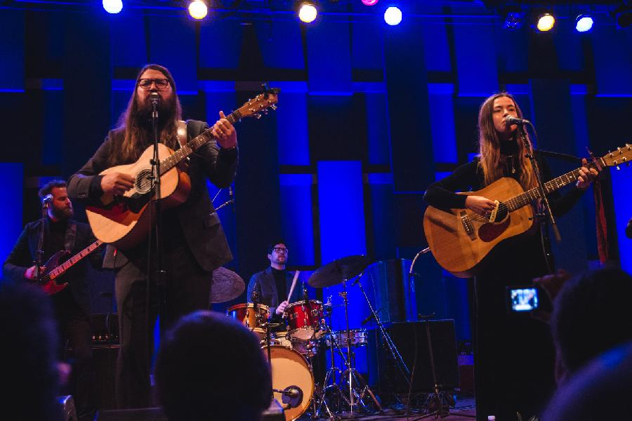 Flo Morrissey And Matthew E. White On World Cafe