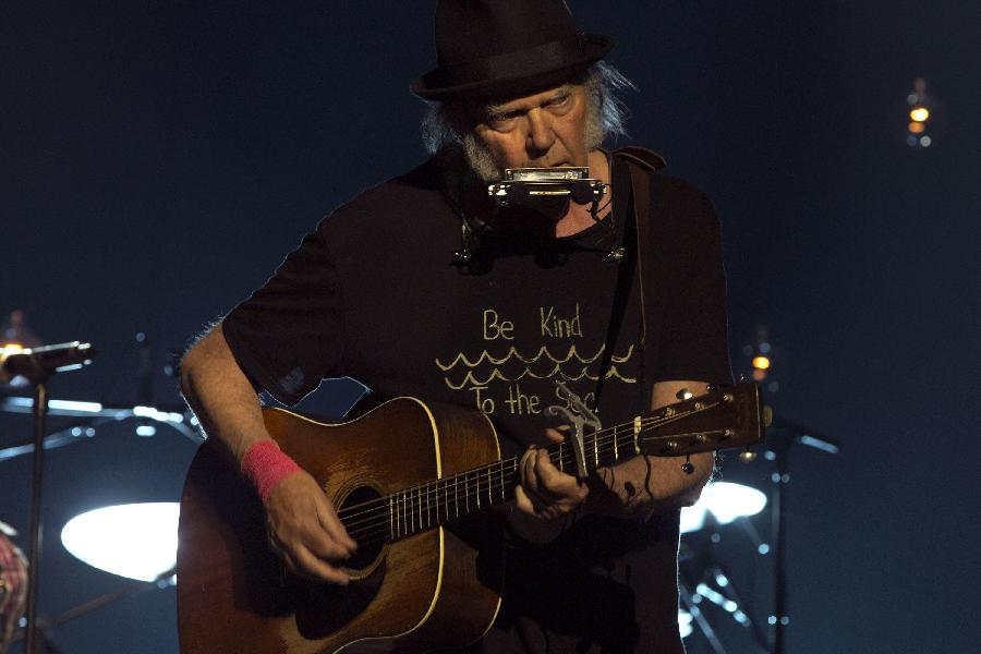 Neil Young On World Cafe